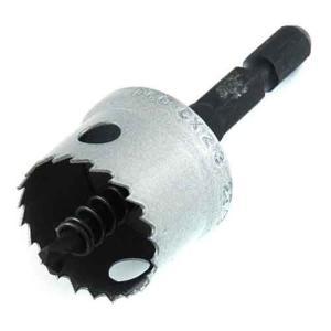 ホールソー インパクト用 金属用 23mm 用途(ステンレス/アルミ/アクリル板/塩化ビニール/プラスチック/サイディングボード/FRP)|diy-tatsu