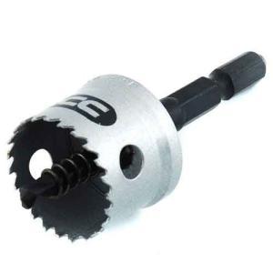 ホールソー インパクト用 金属用 24mm 用途(ステンレス/アルミ/アクリル板/塩化ビニール/プラスチック/サイディングボード/FRP)|diy-tatsu