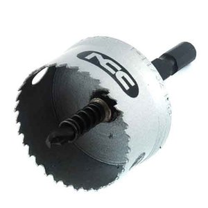 ホールソー インパクト用 金属用 34mm 用途(ステンレス/アルミ/アクリル板/塩化ビニール/プラスチック/サイディングボード/FRP)|diy-tatsu