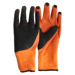 ガーデングローブ 園芸手袋 柑橘剪定用手袋 Lサイズ 手の甲 ゴムコーティング|diy-tatsu