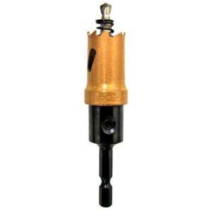 電動ドライバー ドリル用ドリルビット(ウイニングボアー)バイメタルカッター bc-20|diy-tatsu