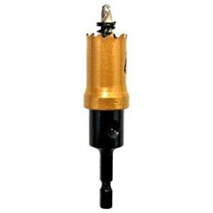 電動ドライバー ドリル用ドリルビット(ウイニングボアー)バイメタルカッター bc-21|diy-tatsu