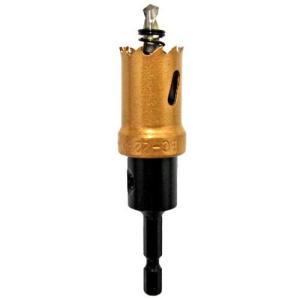 電動ドライバー ドリル用ドリルビット(ウイニングボアー)バイメタルカッター bc-22|diy-tatsu