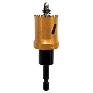 電動ドライバー ドリル用ドリルビット(ウイニングボアー)バイメタルカッター bc-28|diy-tatsu