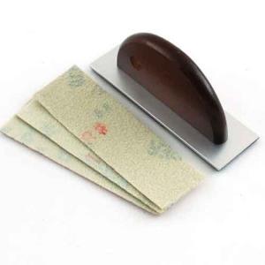 紙ヤスリ 研磨 細部 ペーパー掛け|diy-tatsu
