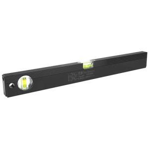 水平器 勾配計 水準器 レベル 黒色 450mm (建築・土木・配管・電気等の工事で水平・垂直・45度)|diy-tatsu