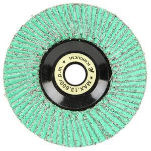 ディスクグラインダー 刃 ゼットソー 粒度40 外径100×穴径15mm 1枚 (溶接ビード除去、スパッタ取り、バリ取り、面取り)|diy-tatsu