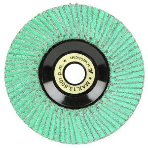 ディスクグラインダー 刃 ゼットソー 粒度60 外径100×穴径15mm 1枚 (溶接ビード除去、スパッタ取り、バリ取り、面取り)|diy-tatsu