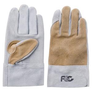 (作業手袋 革) 牛床皮手袋 内縫いタイプ Mサイズ|diy-tatsu