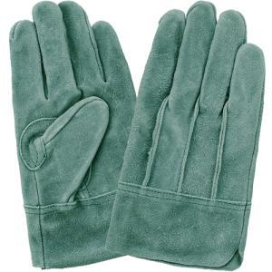 (作業手袋 革) オイルなめし皮 背縫いタイプ 3双組 Lサイズ|diy-tatsu