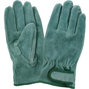 (作業手袋 革) オイルなめし皮 マジック付き 3双組 Lサイズ|diy-tatsu