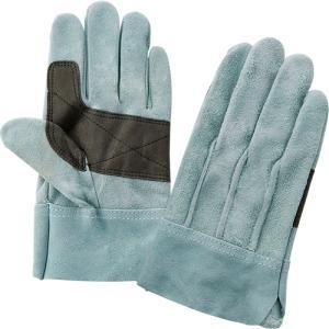 (作業手袋 革) オイル皮 背縫いタイプ Lサイズ|diy-tatsu