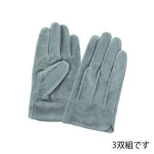 (作業手袋 革) オイル皮 背縫い 3双組 (LLサイズ)|diy-tatsu