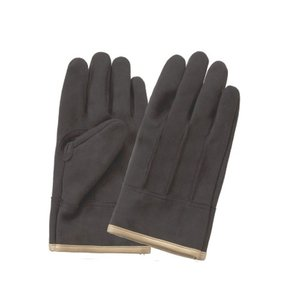 (作業手袋 革 合成・人工皮革) 耐摩耗 背縫いタイプ (Lサイズ)|diy-tatsu
