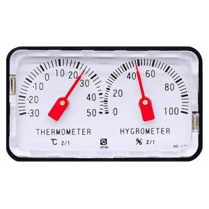 (CRECER) 精密温度計 精密湿度計 ショーケースetc /・HD-120|diy-tatsu