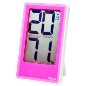 デジタル温度計 湿度計 (CRECER) でか文字デジタル温湿度計 /・CR-2000P|diy-tatsu