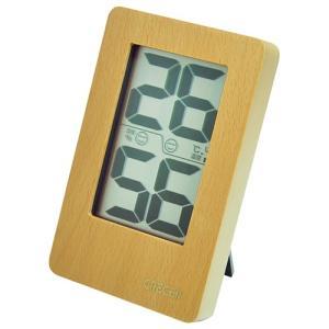 温度計 湿度計 デジタル温度計 デジタル湿度計 130×82mm (卓上/壁掛け)|diy-tatsu