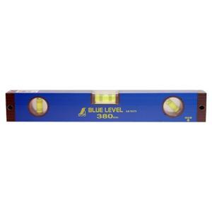 水平器 勾配計 水準器 レベル ブルーレベル 380mm (建築・土木・配管・電気等の工事で水平・垂直・45度確認)|diy-tatsu
