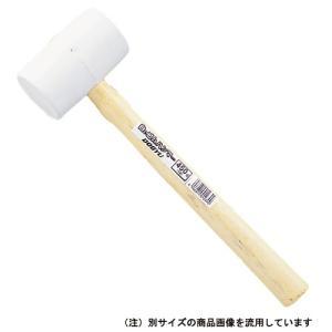 (ゴムハンマー) 土牛 白ゴムハンマー 白色 430×117mm (2ポンド/2p/木柄)|diy-tatsu