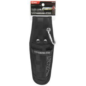 腰袋 工具差し ペンチ、ニッパー差し 2段 90mm (カラビナ付)[腰道具 サック ツールケース] diy-tatsu