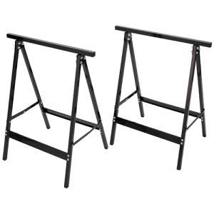 ソーホース (2台入) 自転車スタンド 置き場 ロードバイク 脚 テーブル 塗装 作業台 うま 耐荷重(約):30kg 馬脚|diy-tatsu