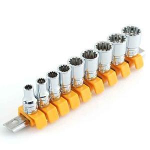 ソケットレンチセット 工具(SK11)スプラインソケットセット shs209sp(用途)/六角ボルト...