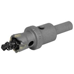 超硬ホールソー 穴サイズ18mm W刃ホールソー (鉄/ステンレス/塩ビ/FRP)(深さ18mm センタードリル径6mm)|diy-tatsu
