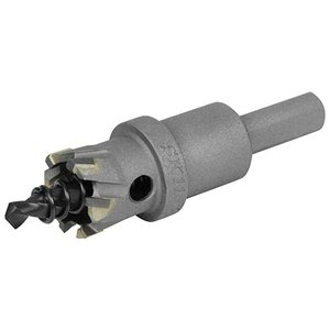超硬ホールソー 穴サイズ20mm W刃ホールソー (鉄/ステンレス/塩ビ/FRP)(深さ18mm センタードリル径6mm)|diy-tatsu