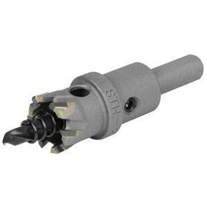 超硬ホールソー 穴サイズ21mm W刃ホールソー (鉄/ステンレス/塩ビ/FRP)(深さ18mm センタードリル径6mm)|diy-tatsu