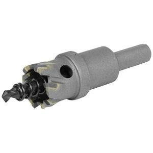 超硬ホールソー 穴サイズ22mm W刃ホールソー (鉄/ステンレス/塩ビ/FRP)(深さ18mm センタードリル径6mm)|diy-tatsu