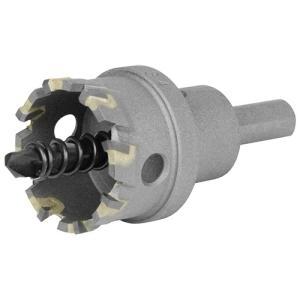 超硬ホールソー 穴サイズ34mm W刃ホールソー (鉄/ステンレス/塩ビ/FRP)(深さ18mm センタードリル径6mm)|diy-tatsu