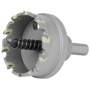 超硬ホールソー 穴サイズ50mm W刃ホールソー (鉄/ステンレス/塩ビ/FRP)(深さ18mm センタードリル径6mm)|diy-tatsu