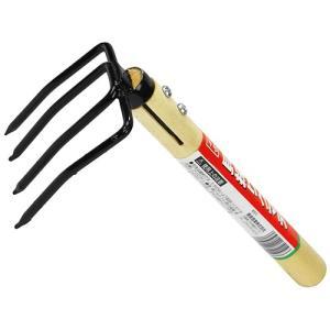 潮干狩り 道具 熊手 貝採りクマデ 4本爪 (貝採り 貝取り くまで 子供から大人まで)|diy-tatsu