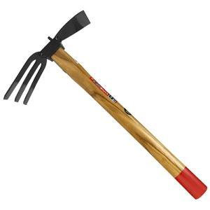 (農具 鍬) イカ型鍬 大型くわ 片手鍬 高さ445×幅95×奥行240mm (土起こし、穴掘り)|diy-tatsu