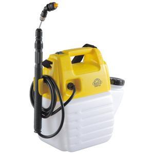 噴霧器 除草剤散布機 ガーデンスプレー   タンク5L 310x360x175mm (除草剤用/電池式)[電動噴霧器 ガーデンスプレー]|diy-tatsu
