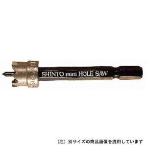 電動ドライバー インパクトドライバー用(シントー)ミニホールソーhss 8mm|diy-tatsu