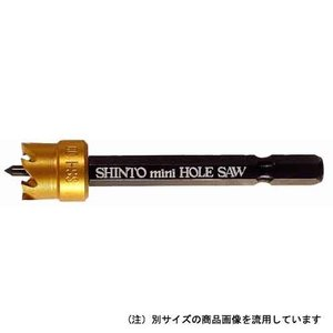 電動ドライバー インパクトドライバー用(シントー)セラミニホールソー 14mm|diy-tatsu