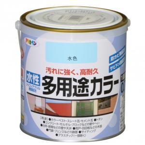 アサヒペン 水性多用途カラー 水色 0.7L