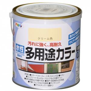 アサヒペン 水性多用途カラー クリーム 0.7L