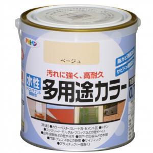 アサヒペン 水性多用途カラー ベージュ 0.7L