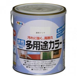 アサヒペン 水性多用途カラー クリヤ 1.6L