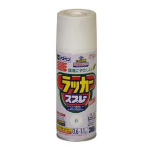 アサヒペン アスペンラッカースプレー300ml 白 300ml diy-tool