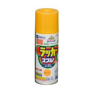 アサヒペン アスペンラッカースプレー オレンジ 300ml|diy-tool