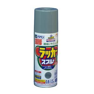 アサヒペン アスペンラッカースプレー420mlグレー ねずみ色 420ml|diy-tool