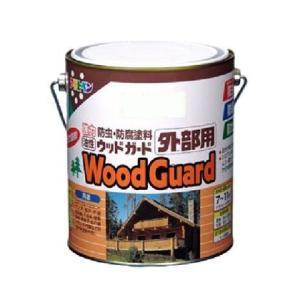 アサヒペン 油性ウッドガード外部用 ウォルナット11 1.6L