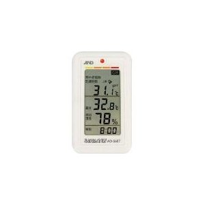 A&D みはりん坊W(乾燥指数・熱中症指数表示付温湿度計) 164 x 99 x 28 mm AD5...