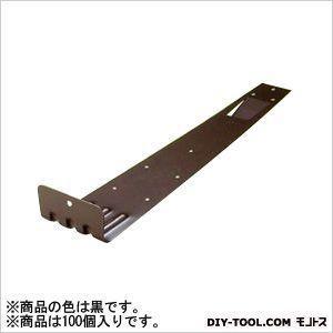 アミリ ステン扇型 (後付) 2型 ステン304 黒 H45×W83×D355 U-12-1 100 個|diy-tool