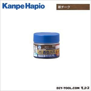 カンペハピオ 水性ウレタン着色ニス 新チーク 100ML