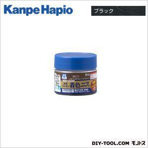 カンペハピオ 水性ウレタン着色ニス ブラック 100ML|diy-tool
