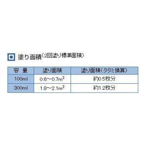 カンペハピオ 水性ウレタン着色ニス 新マホガニー 100ML|diy-tool|02